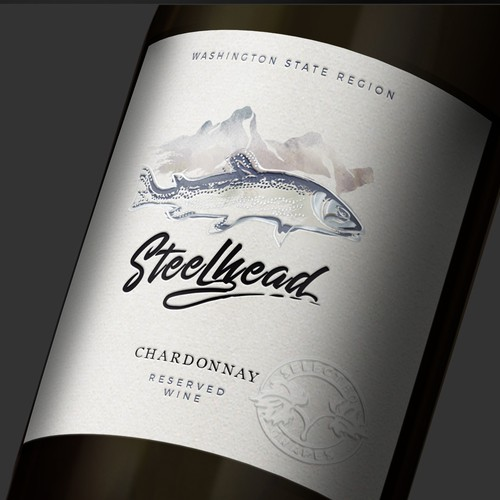 Label Design for wine