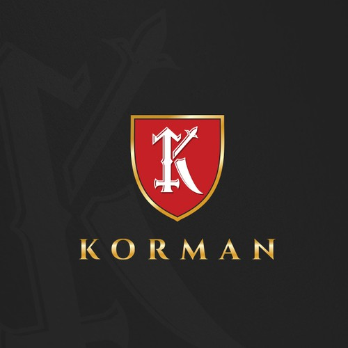 Logo design for Korman LLC