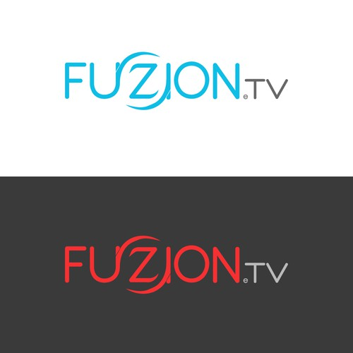 TV Service Logo with a Twist