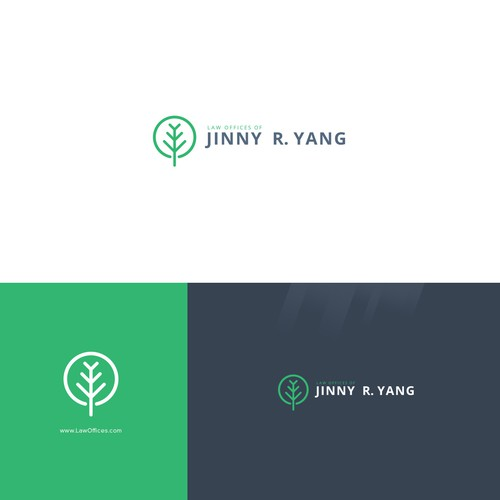 Create a clean, modern, and sophisticated logo design for a law firm