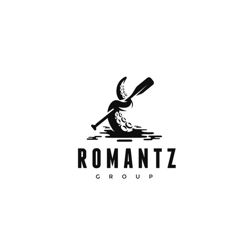 Romantz Group logo design