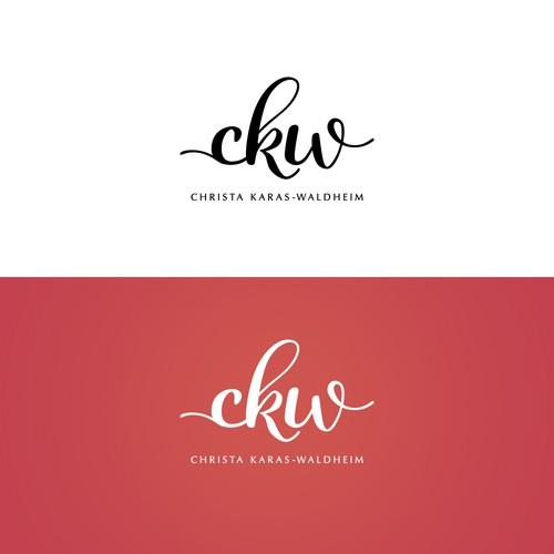 "Logodesign ""ckw"" CHRISTA KARAS-WALDHEIM"