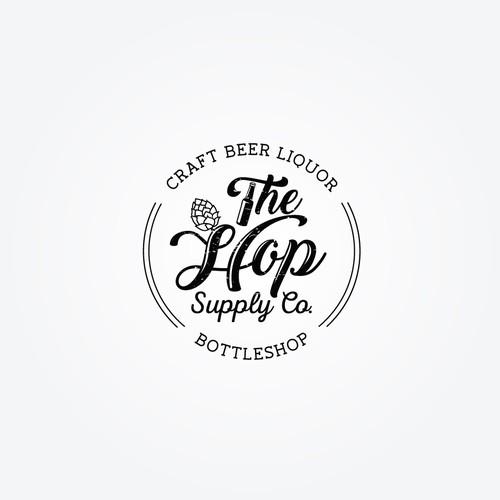 craft beer bottleshop Logo
