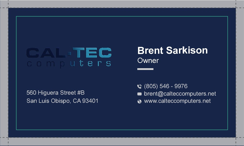 Design Business Card for IT Company