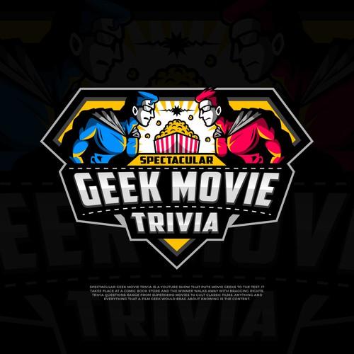 Logo for a Geeky Film Trivia Show!
