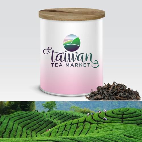 Logo for Taiwan Tea Market