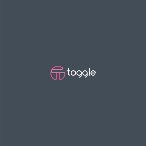 Bold logo concept for toggle
