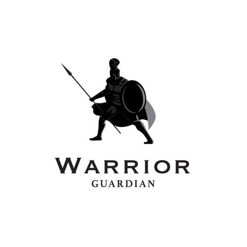 Warrior Guardian Logo Concept
