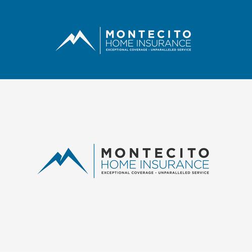 Insurance mountain logo