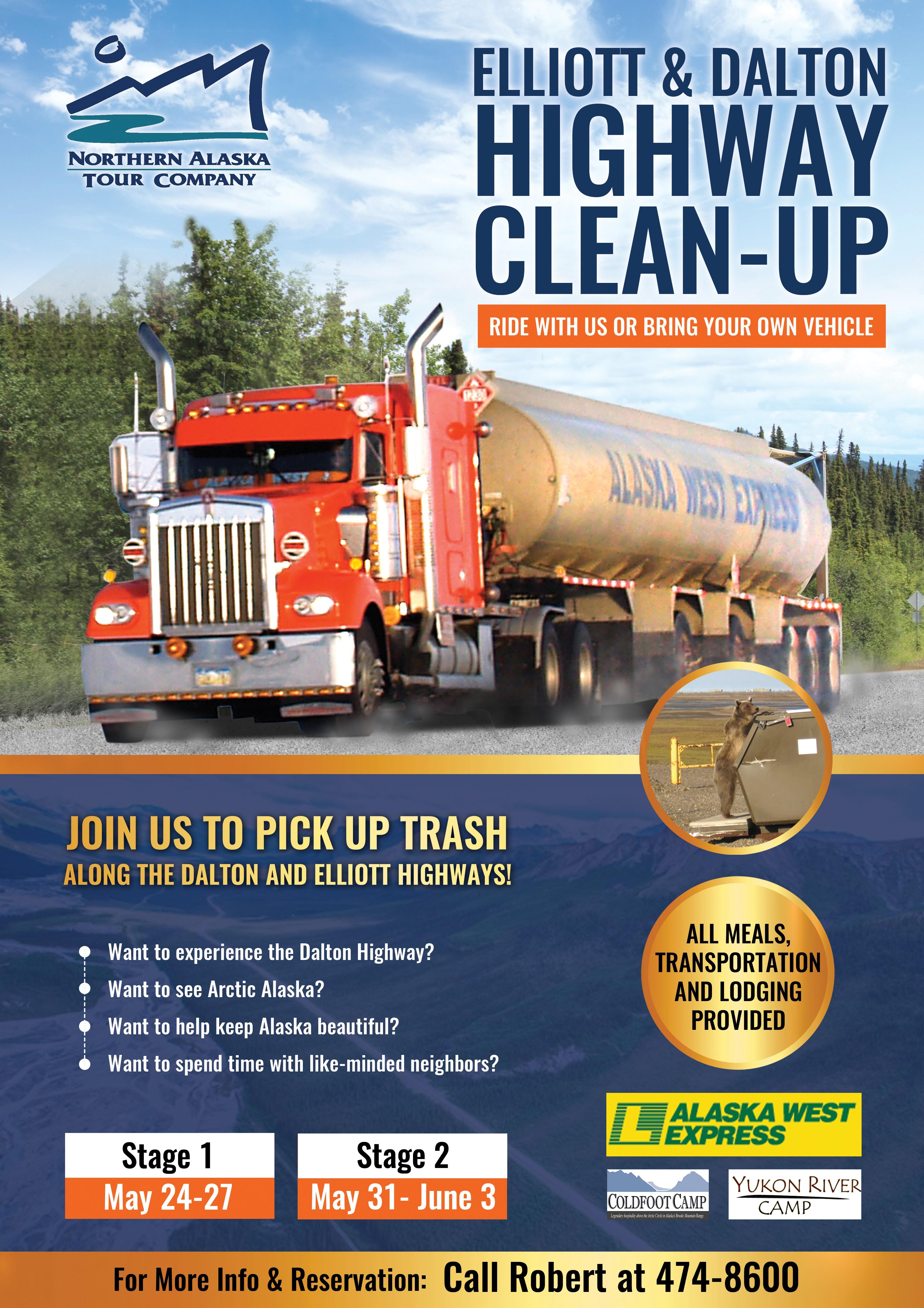 Dalton Highway Clean-Up