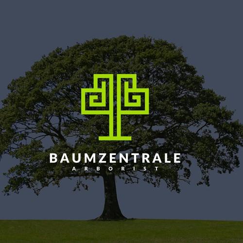 Creating Logo for Baumzentrale