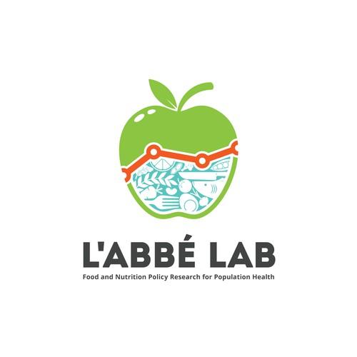 Clever Logo for L'Abbé Lab