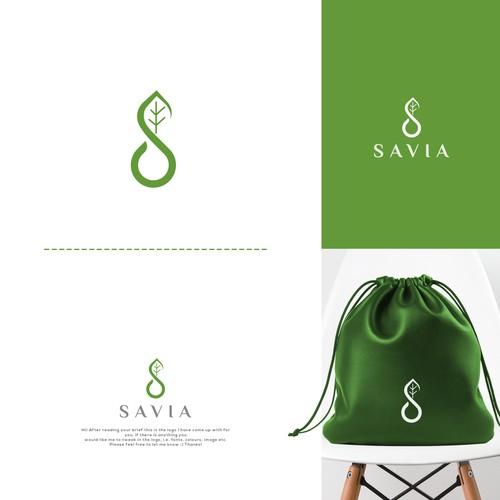Savia Logo Design