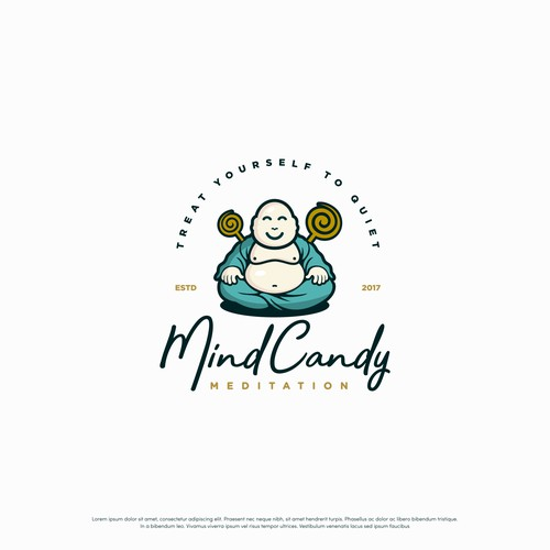 Fun logo  for Mind Candy Meditation