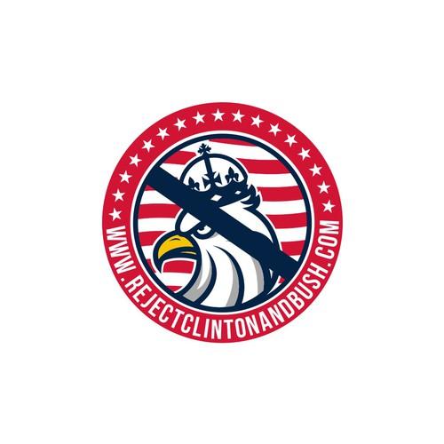 New political logo for anti-Bush/Clinton