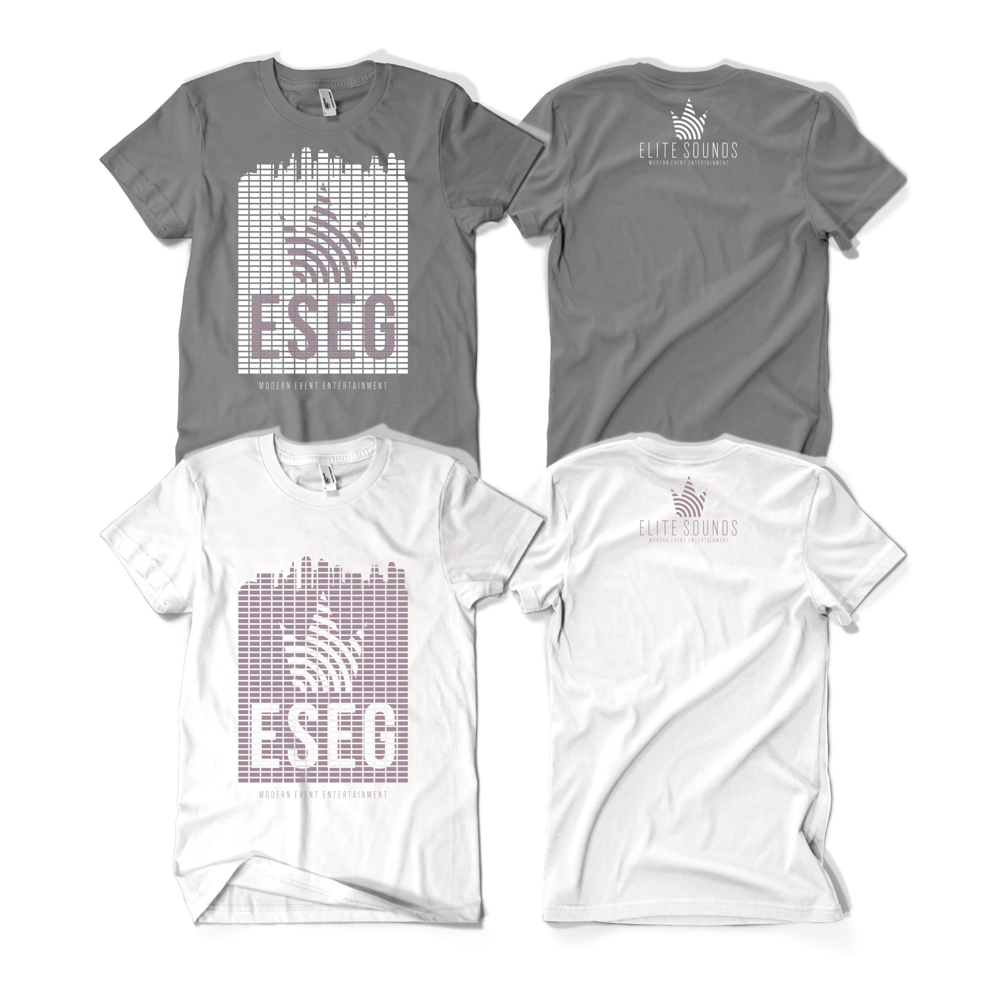 Trendy T Shirt Design For High End DJ, Event Lighting Company