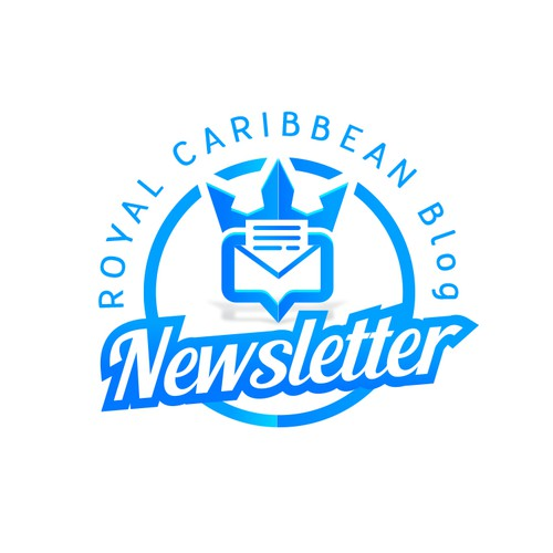 Modern Logo Royal Caribbean Blog Newsletter