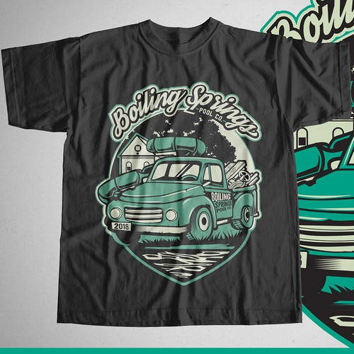 Boiling Springs Pool Co. 2018 Shirt