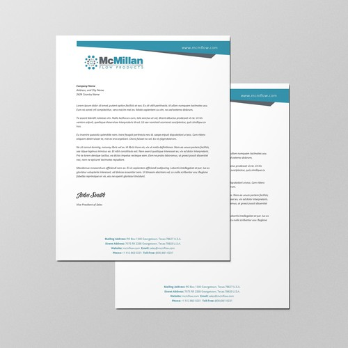 Professional Microsoft Word Letterhead
