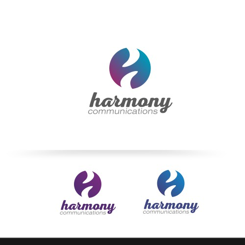 Harmony Communications Logo Design