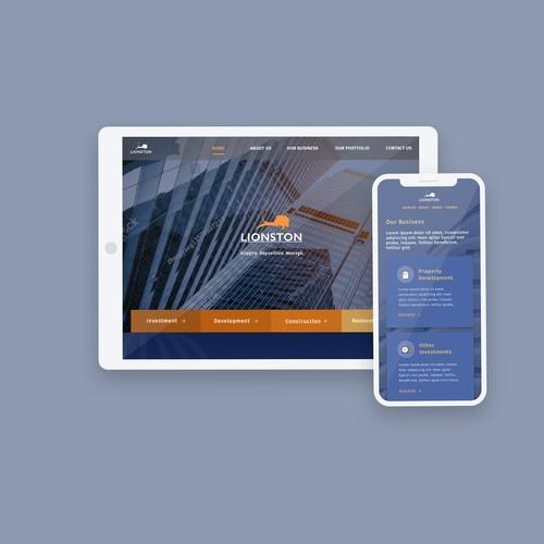 Modern Corporate Landing Page