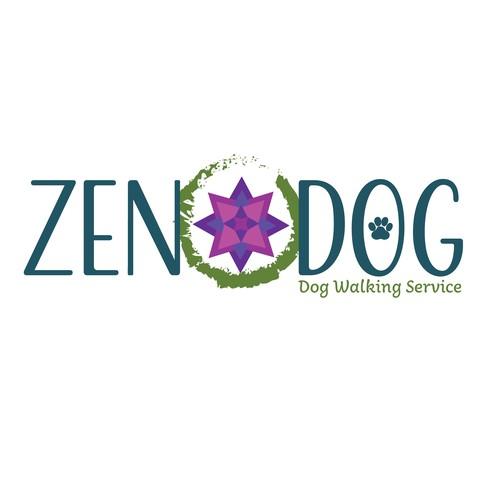 Logo concept for Dog walking service