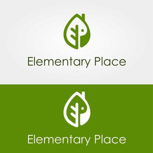 Logo concept for Elementary Place.