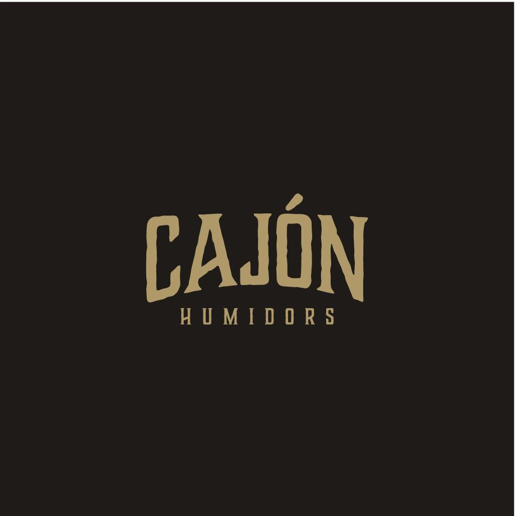 Invent a lifestyle logo for a Cigar Humidor Company named Cajón Humidors