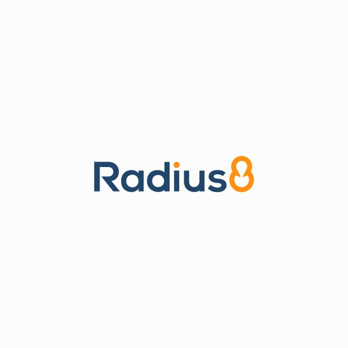 Logo design for Radius8