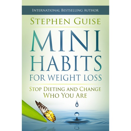 """""""Mini Habits for Weight Loss"""" Cover Design"""