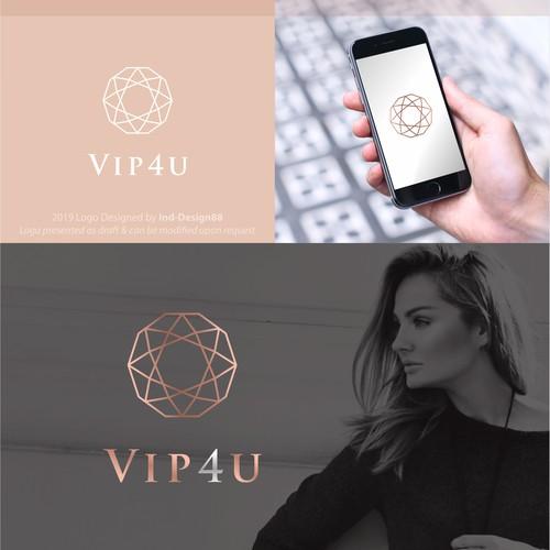 VIP4U logo