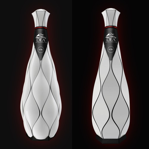 3D  bottle design
