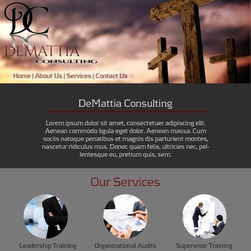 Web Design for DeMattia Consulting