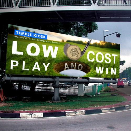 temple kiosk billboard