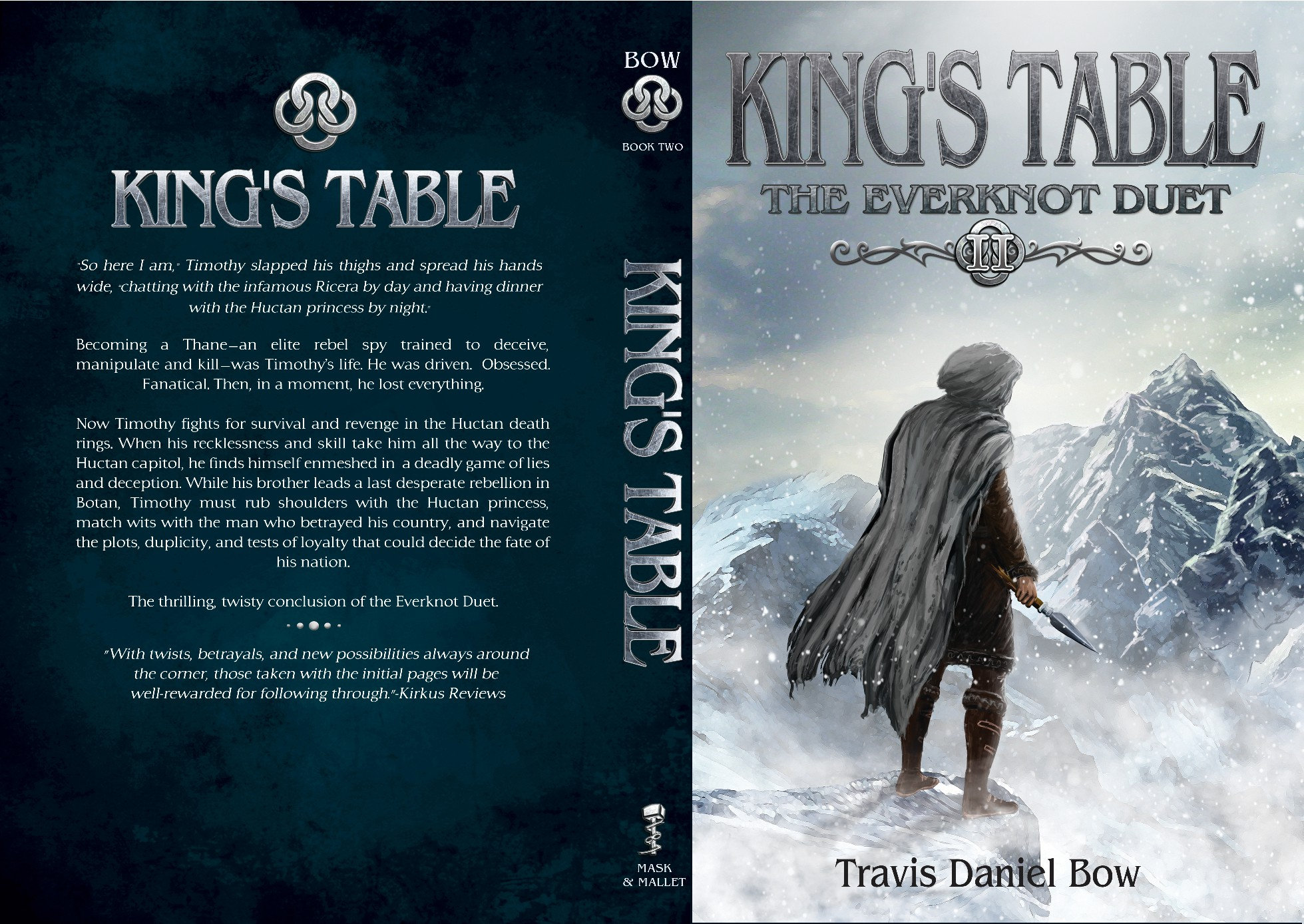 Cover design for YA spy/fantasy novel