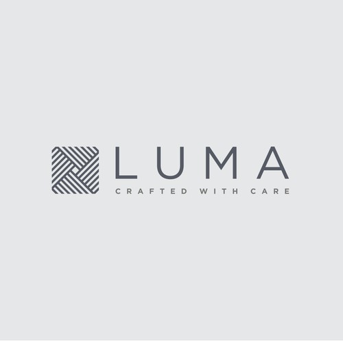 Create a luxurious new logo for LUMA