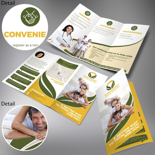 Trifold Brochure for a Colonnades Family Medicine