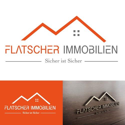 Logokonzept für Immobilienunternehmen