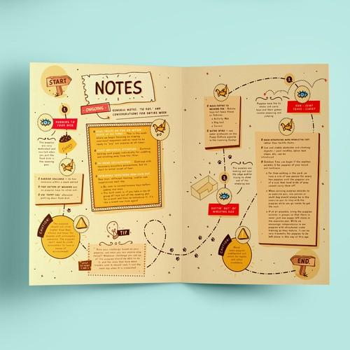 **PUPPIES Workbook** 1st & 2nd sketches