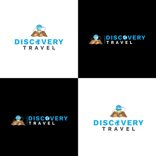 Bold concept for Discovery Travel.