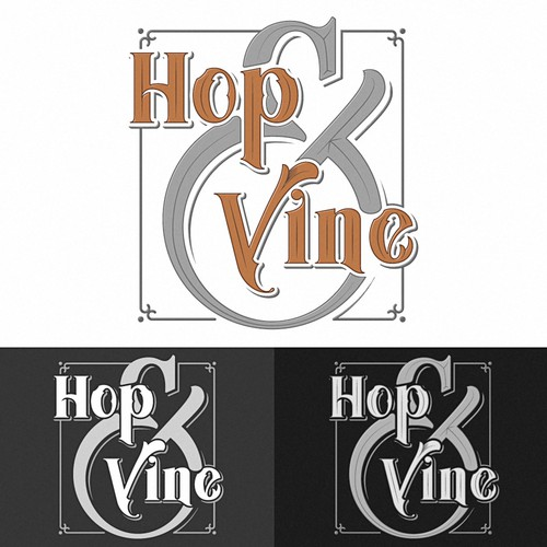 Create a logo for a new boutique wine/craft beer store