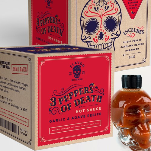 Sauce box design