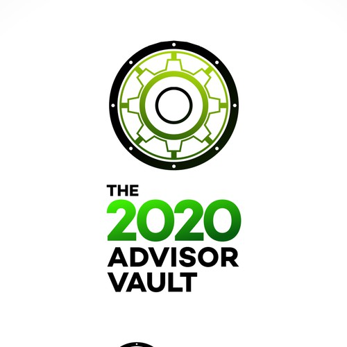 Logo for online course the 2020 advisor vault