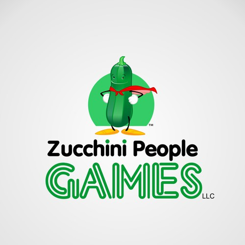 Zucchini People Games, LLC needs a new logo