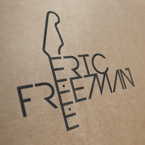 Logo for guitarist Eric Freeman