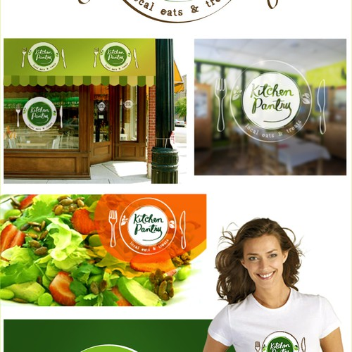 Create an eye catching identity for our organic cafe