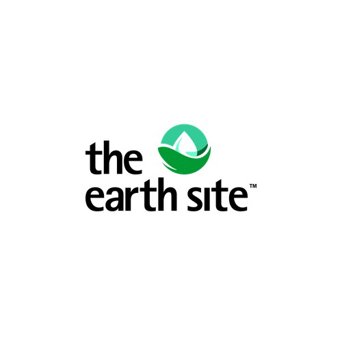 the earth site logo concept