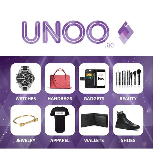 Unoo Banner Design