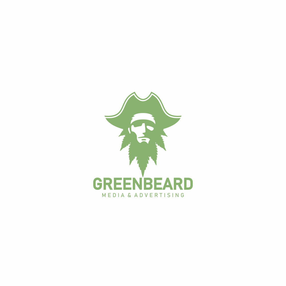 Bad Ass Pirate-Flavored Logo for Cannabis / Marijuana Agency