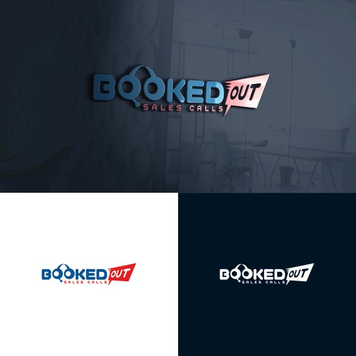 Booked Out Sales Calls Logo